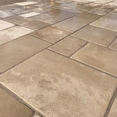 Reclaimed French Flagstone Flooring