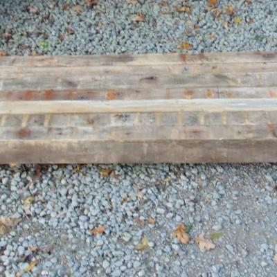 Reclaimed 70 Year Old Pine Beams