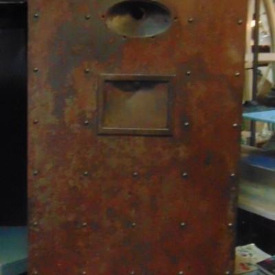 Victorian Cast Iron Prison Door