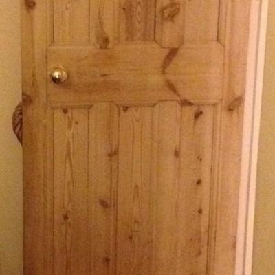 3 over 3 wood panel doors