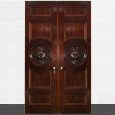 Solid Mahogany Double Doors