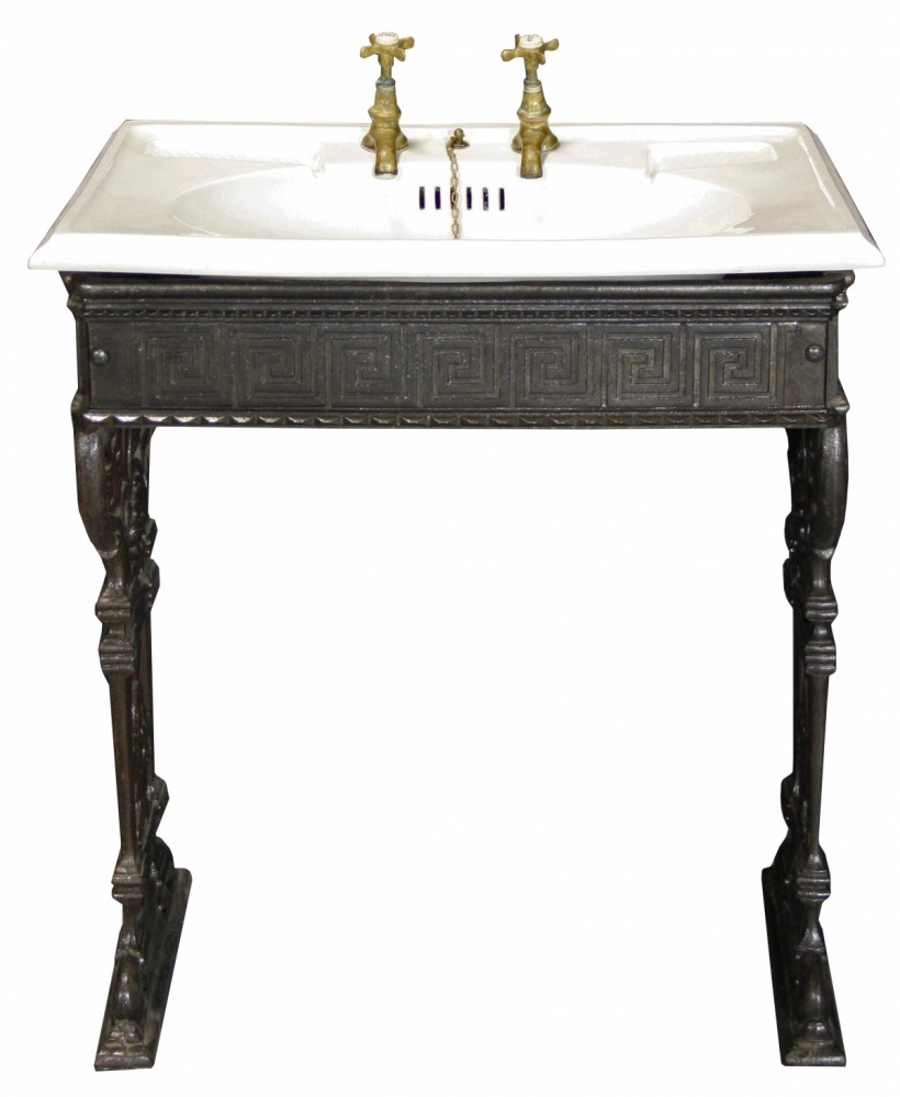 Victorian Sink / Basin On Stand