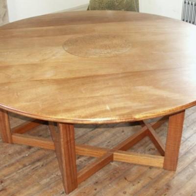 large Judaic  star of david table