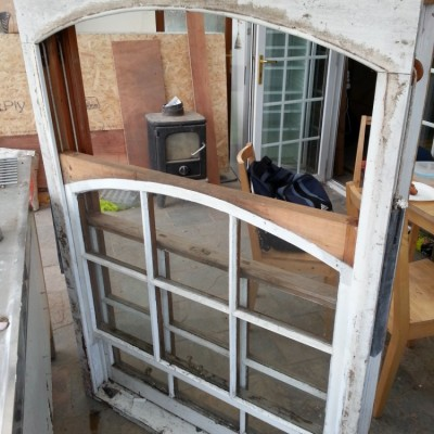 Wooden Sash Window, Single Glazed