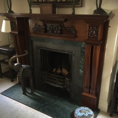 Fireplace and Mantlepiece