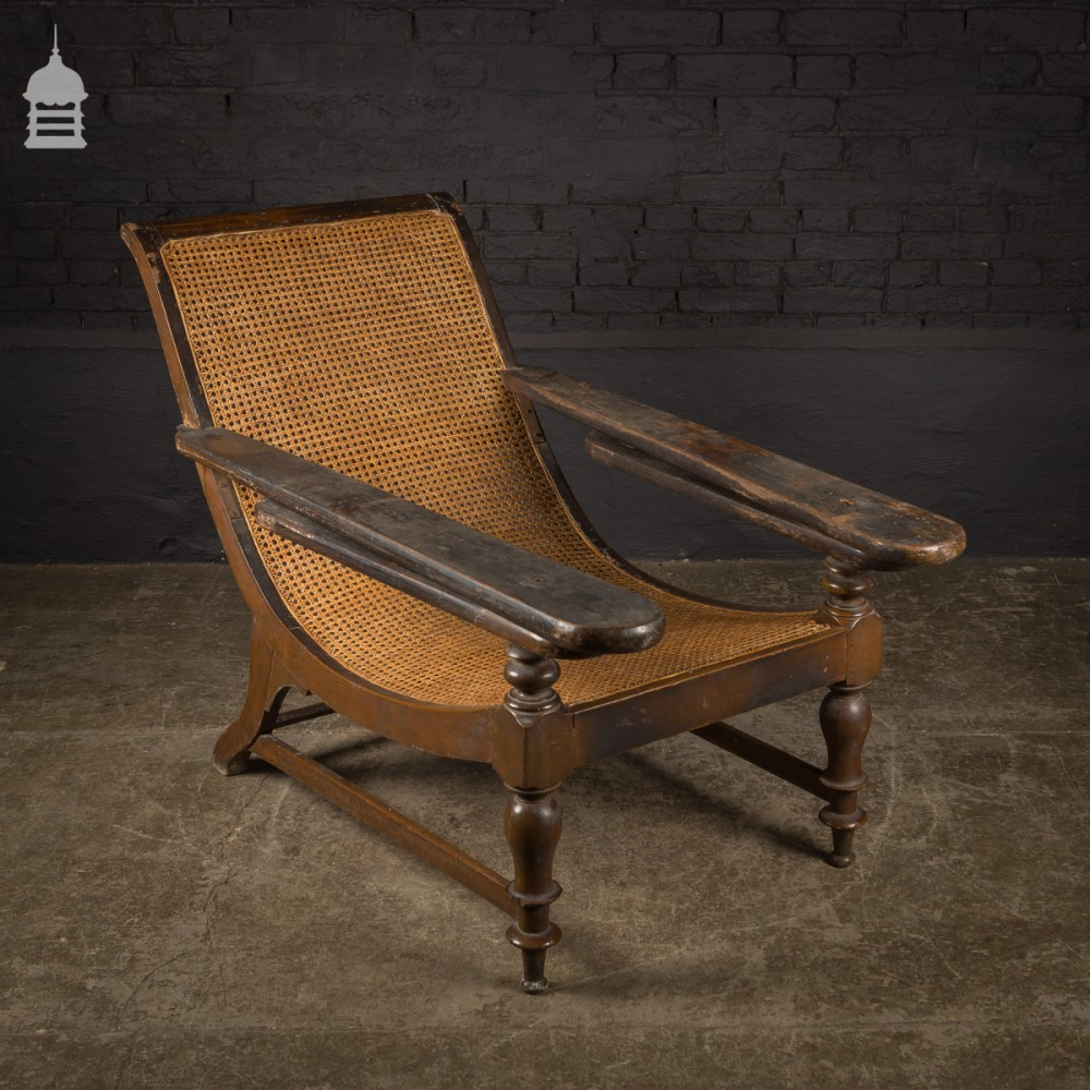 Planters Chairs: For Sale Rare 19th C British Colonial Planter's Plantation