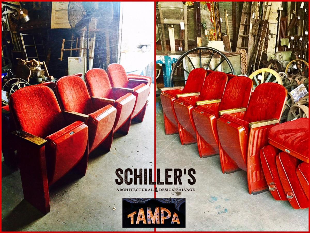 Tampa Theater Seats