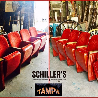 Tampa Theater Seats
