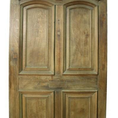 Oversize Oak Front Door C. 1900