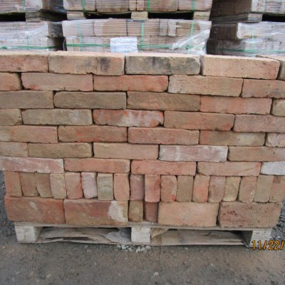 Reclaimed 60 mm Red Bricks