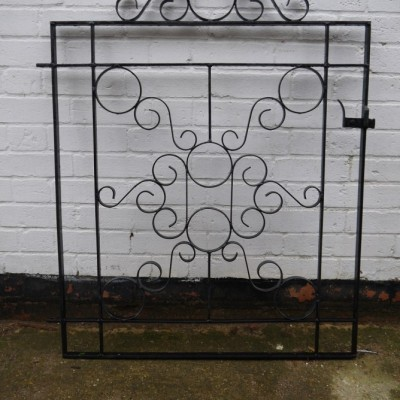reclaimed metal gate