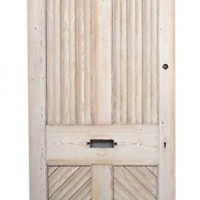 Victorian Four Panel Front Door