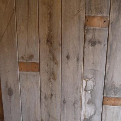 reclaimed original roof boarding /cladding