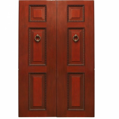 Solid Walnut External Double Doors - 220cm x 136cm