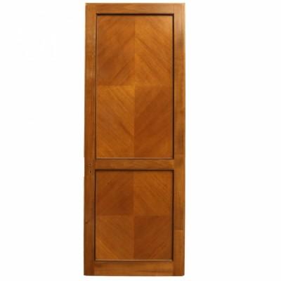 Solid Tulip Wood Two Panel Door - 222cm x 82.5cm