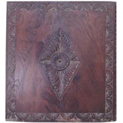 17th Century Carved Oak Panel
