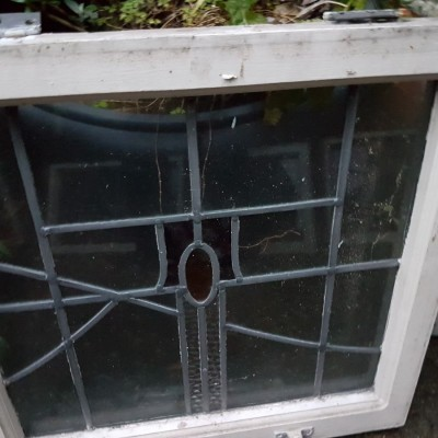 10 Leaded Glass Bay windows for sale