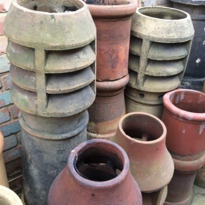 Reclaimed Chimney Pots (Various Sizes)