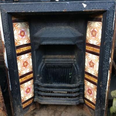 Victorian Cast Iron Fixed Insert