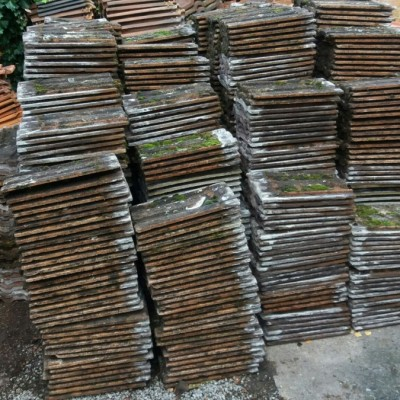 Antique Brown weathered Ludlow Tiles