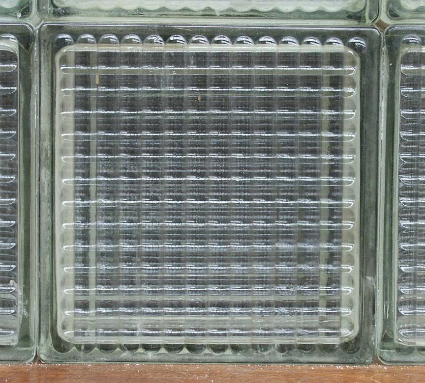 1950's glass bricks