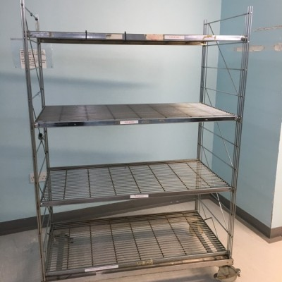 Stainless steal shelving