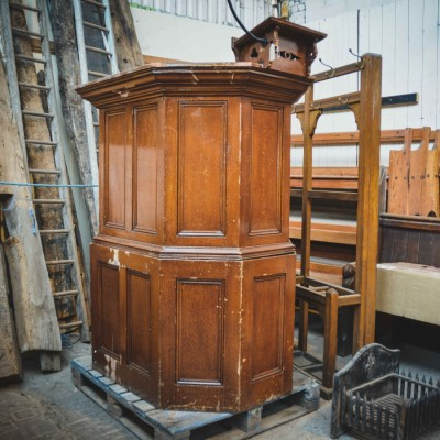Victorian Church Pulpit