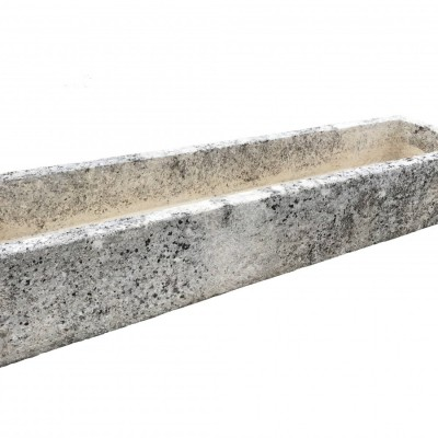 Antique limestone horse trough – 18th century