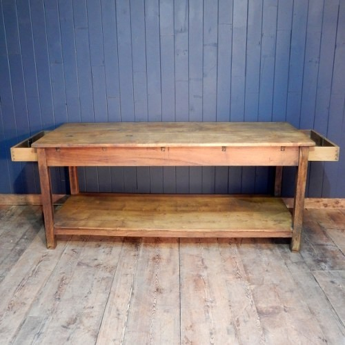 Farm House Table With Draw At Each End
