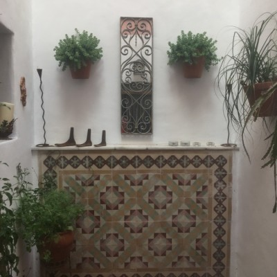 Traditional Decorative Andalusian tiles