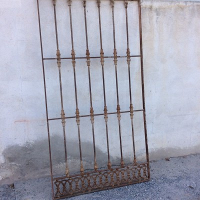 Large antique Metal window guards
