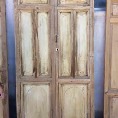 Sweet Chestnut Double Front Door