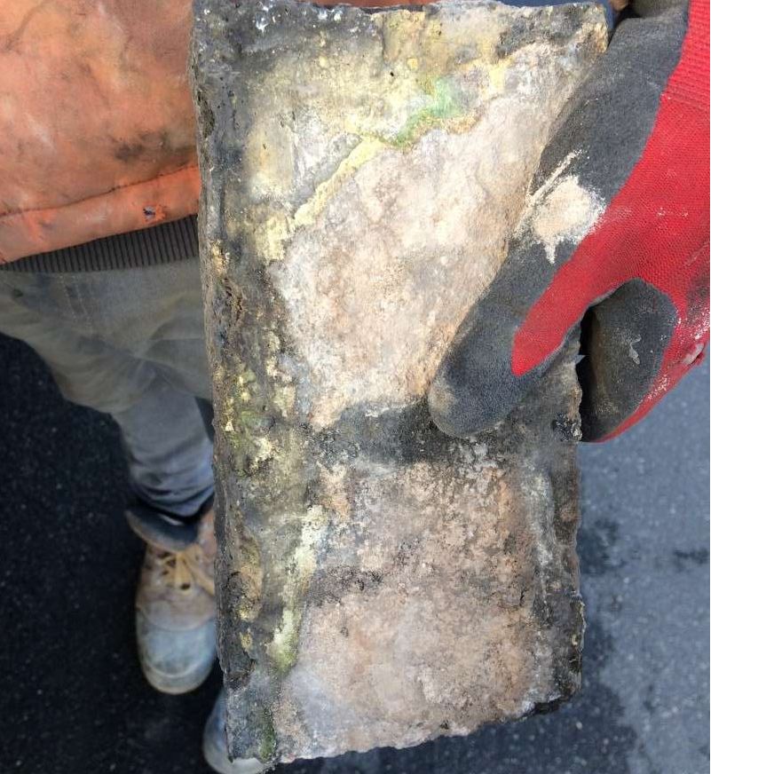 Existing brick (from chimney stack)