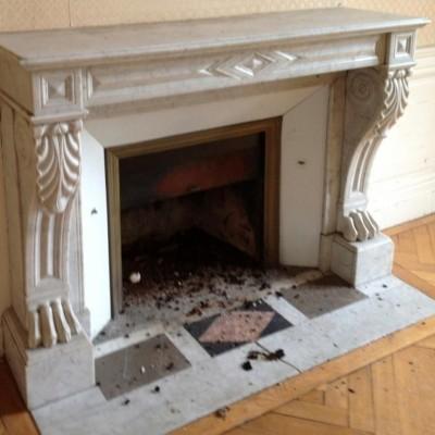 Cheminée marbre - Antique marble fireplaces