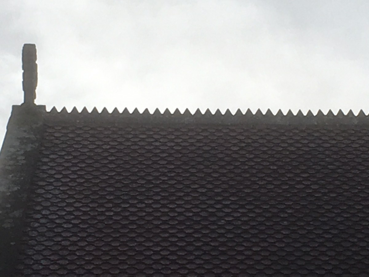 Cockscombe ridge tiles