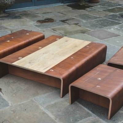Gymnasium Coffee Table Set