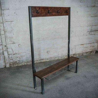 Pupil's Bench & Coat Rack