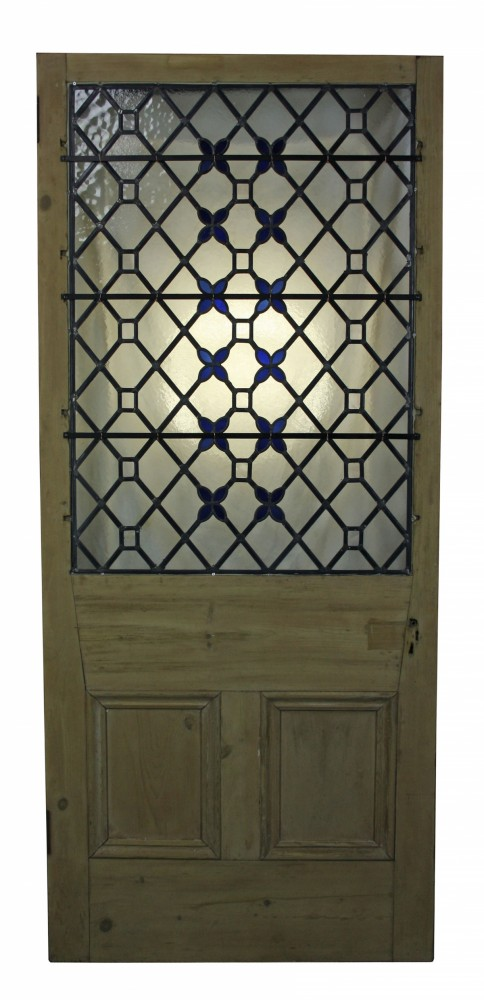 For Sale Antique Stained Leaded Glass Front Door Salvoweb Uk