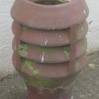 Chimney pot.