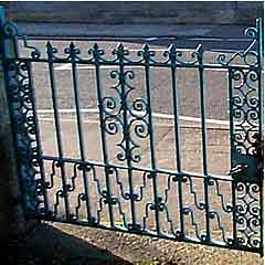 Blue gates stolen in Norfolk