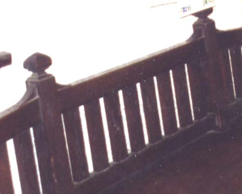 Two oak benches stolen