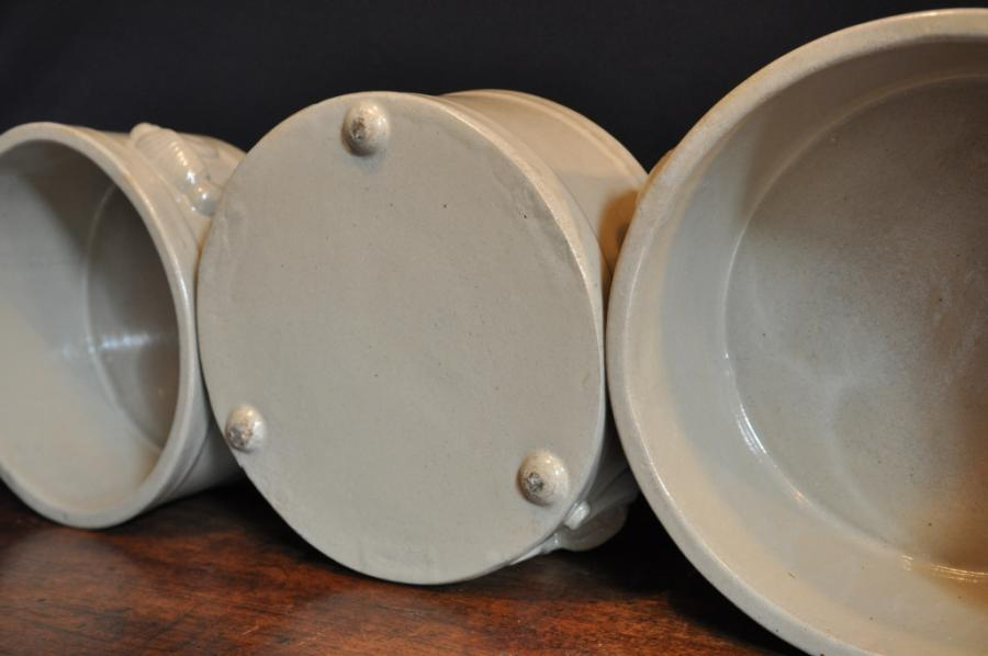 antique ceramic laboratory bowls baths-english