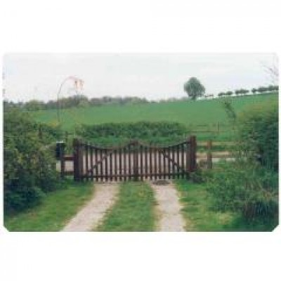 10ft wide oak gates