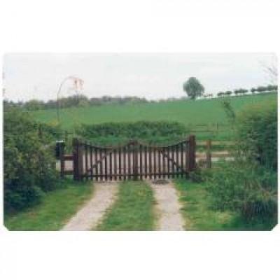 10ft wide oak gates