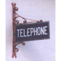 TELEPHONE sign stolen in Devon
