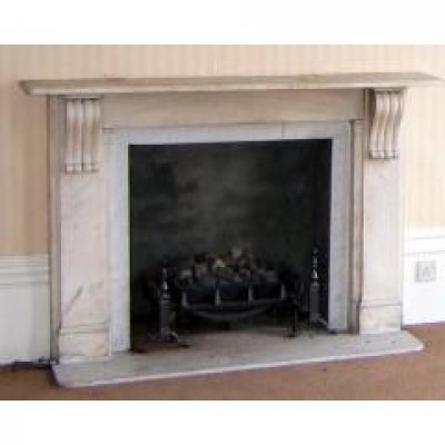 White marble fireplace stolen from Lewes