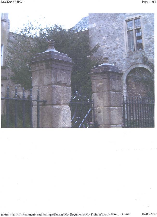 gate pillar finials