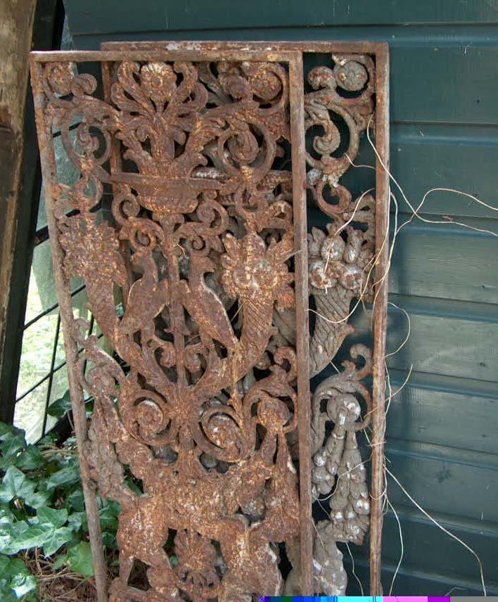 Cast iron screens