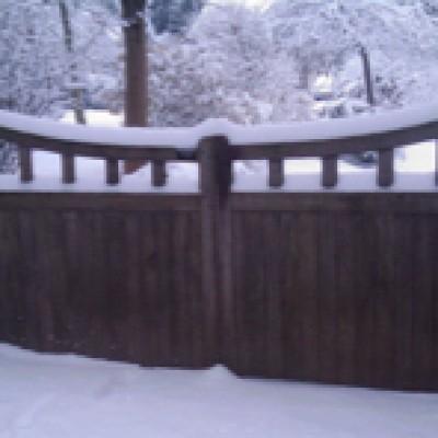 Three sets of  gates