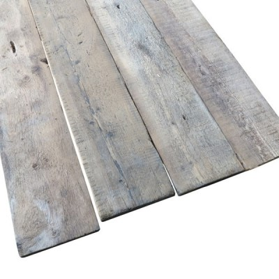 Antique Reclaimed Re Sawn Pine Square Edged Floorboards